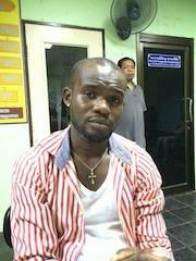 nigerian drug seller thailand