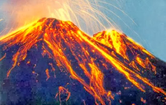 24 Gunung Berapi Yang Aktif Di Indonesia