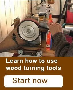 Wood turning tools lessons for free