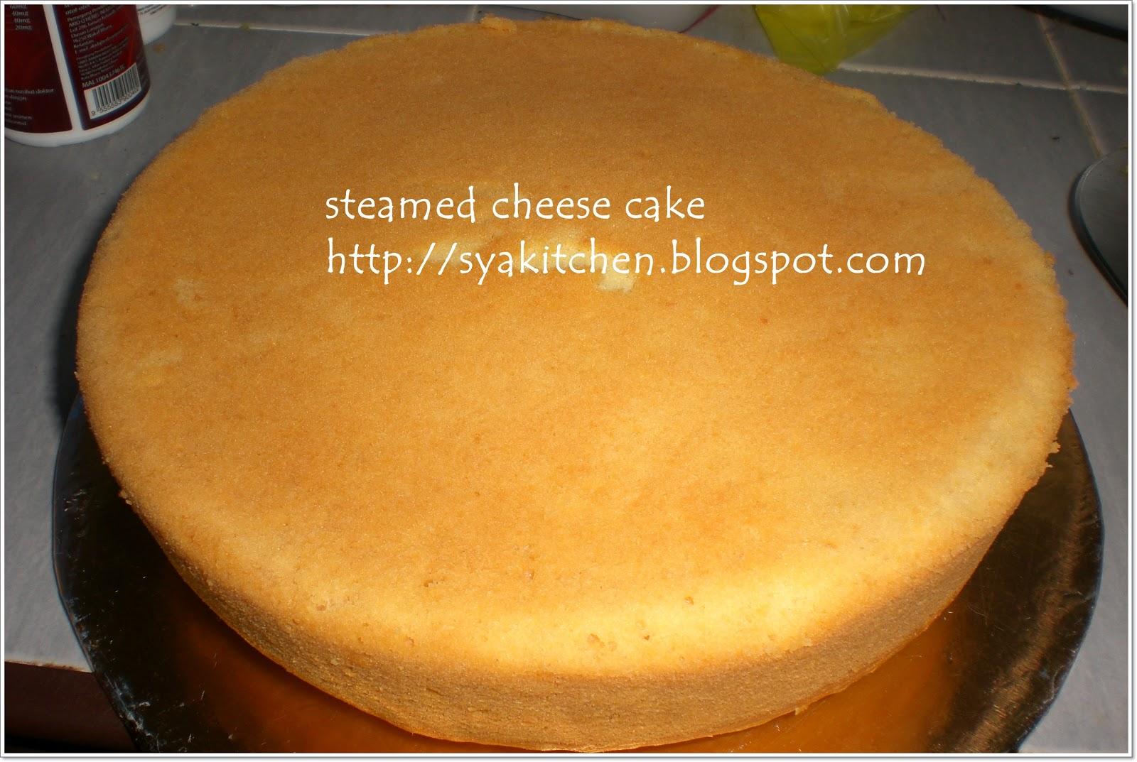 kalo melayu cakap cheese kek kukus la kan kek ni takleh makan banyak ...