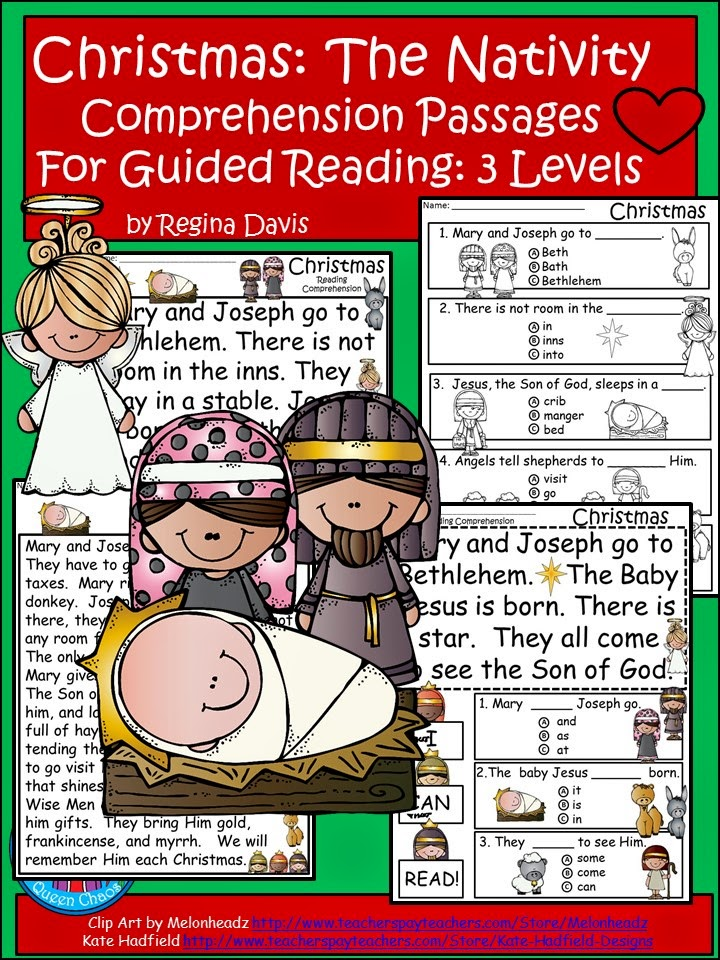 http://www.teacherspayteachers.com/Product/A-FLASH-FREEBIE-Christmas-NativityDifferentiated-InstructionGuided-Reading-1616280