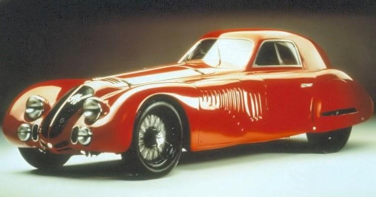 "1938 - 8C 2900B Speciale tipo ""Le Mans"""