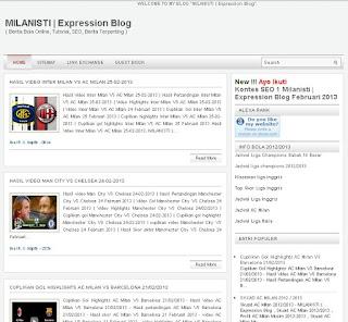 Blog Milanisti: Berita Bola Online dan Berita Bola Terpenting