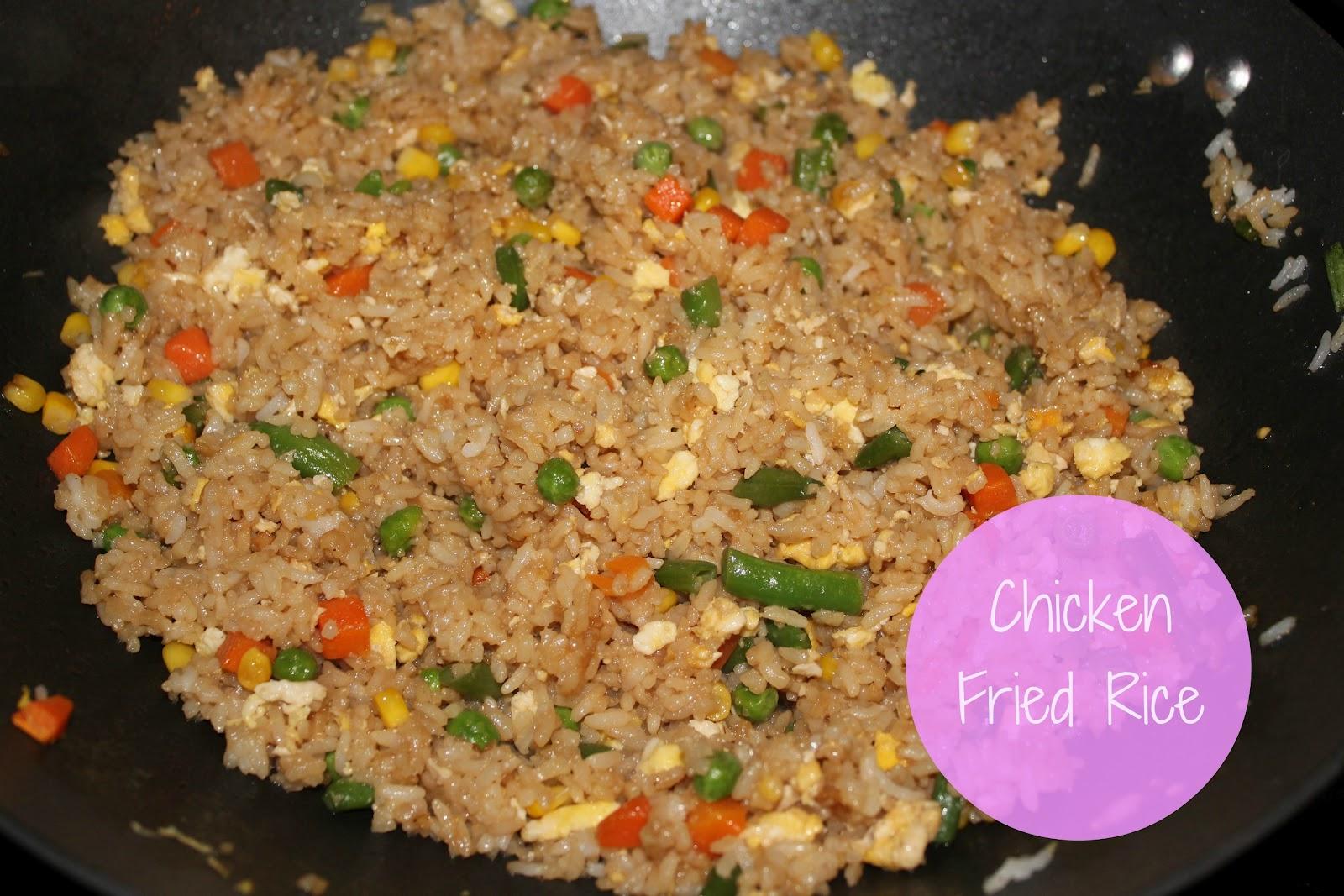 Fresh and Fancy: Fresh & Fancy Dinners ~ Chicken Fried Rice Recipe