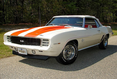 1969 Chevy Camaro - The Classic Muscle Cars