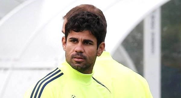 Oscar plays down Diego Costa clash