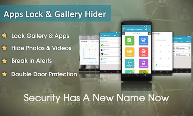 تحميل وتثبيت تطبيق Apps Lock & Gallery Hider لهواتف الاندرويد Apk