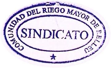 COMUNIDAD DEL RIEGO MAYOR DE RELLEU