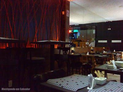 Bar Preto: Ambiente interno