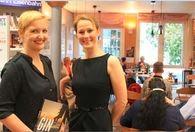 Helga König im Gespräch  mit Melanie Jonas und mit Margaritta Schulze Lohoff