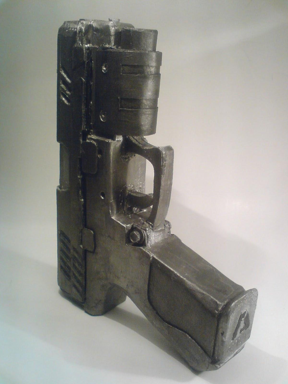 Pistola Blacktail - Resident Evil DSC04522