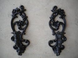 wall sconces...SOLD
