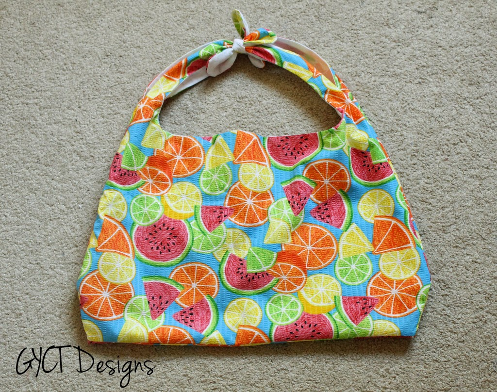 Reusable Grocery Bag PDF Pattern for GYCT Designs