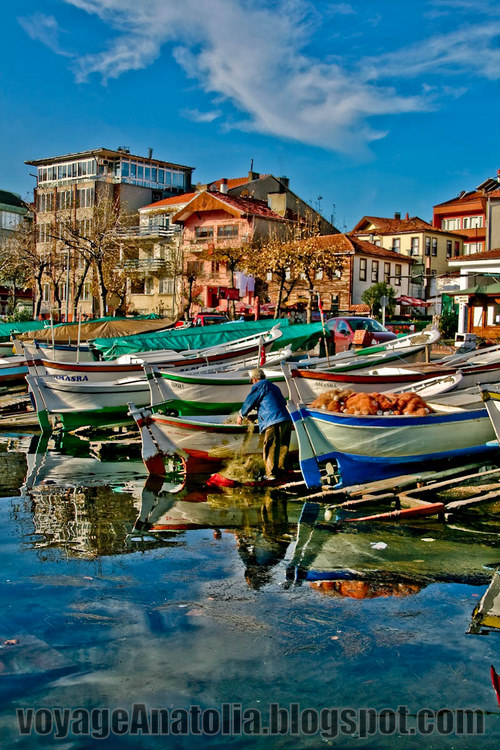 Fishing Boats at Black Sea