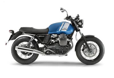 Moto-Guzzi V7 blue/white 2015