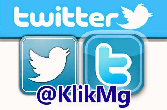 Akun Twitter Kami - Klikmg