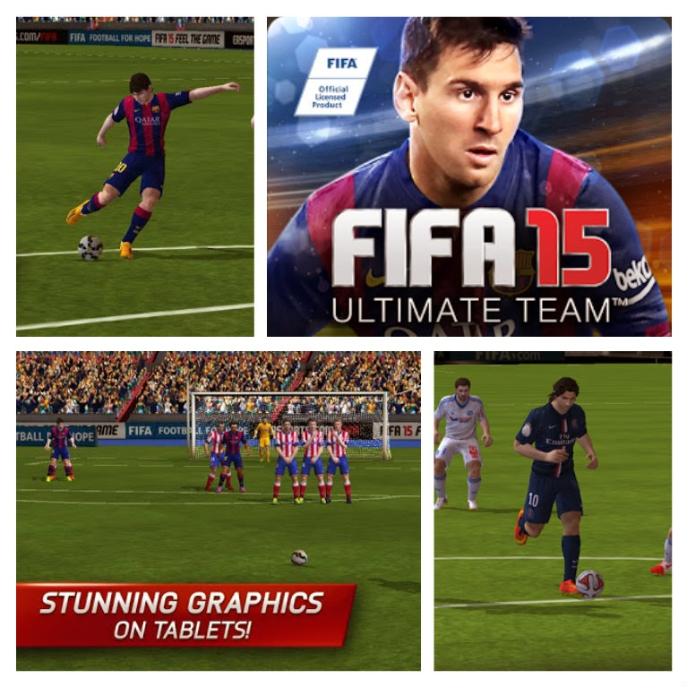 FIFA 15 Ultimate Team (MOD) (APK+OBB)