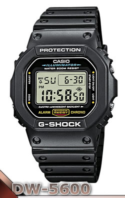 Casio DW-5600: el incombustible