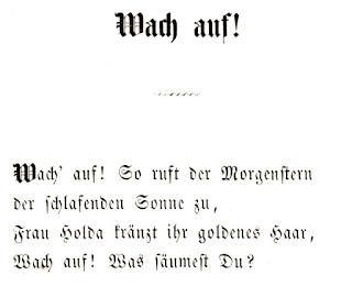 Mathilde Wesendonck: Wach auf! In: Natur-Mythen. 1865