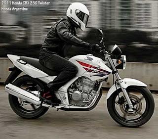 2011 Honda CBX 250 Twister