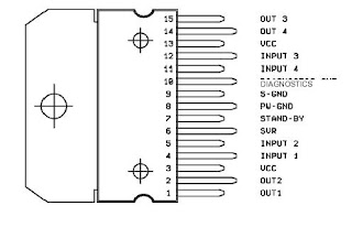 diagram block tda 7377 picture of good electronic circuit Electric Airplane Battery Receiver