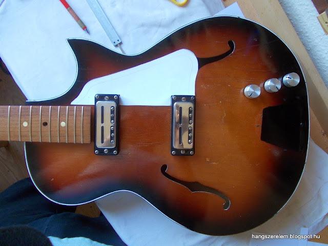 gitár koptató készítés