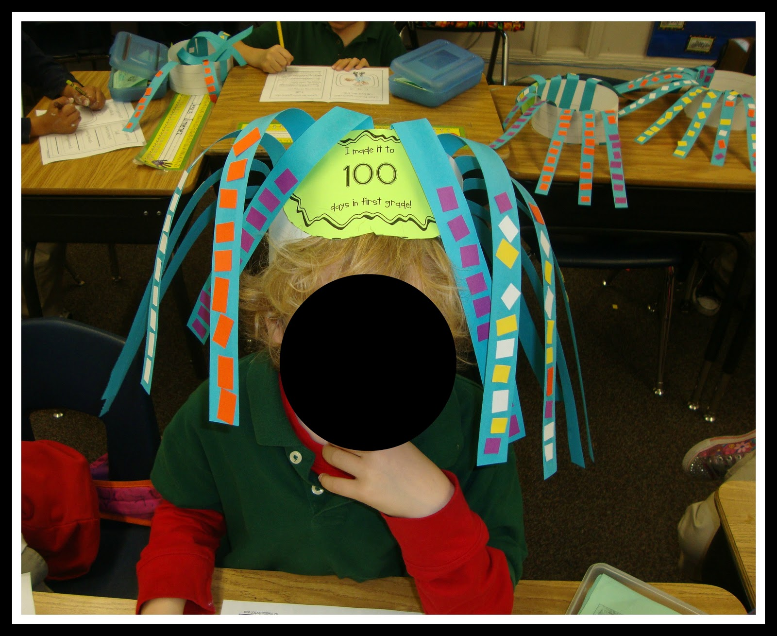 Today In First Grade: 100th Day Fun!