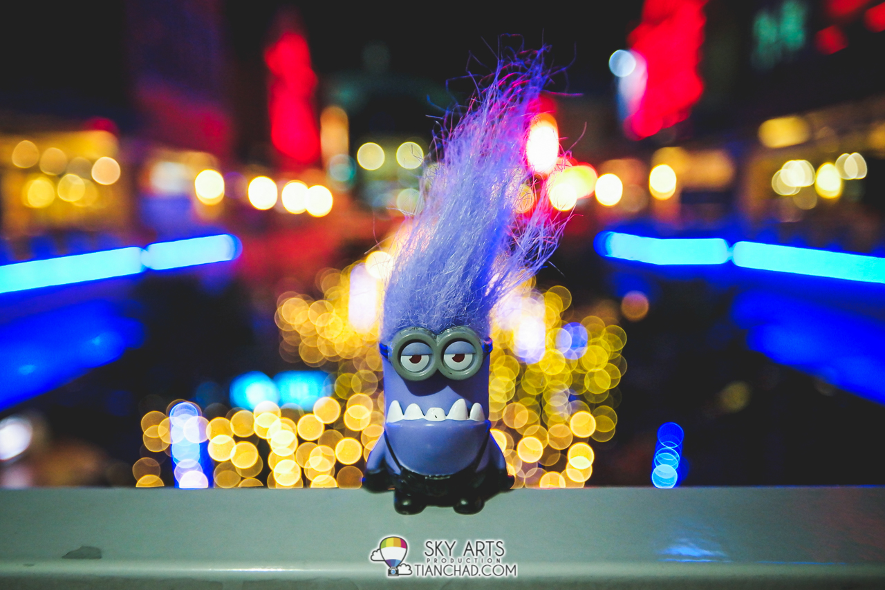 Evil Minion with Thousand Stars In The Sky