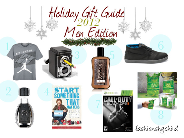 Holiday Gift Guide: Men Edition