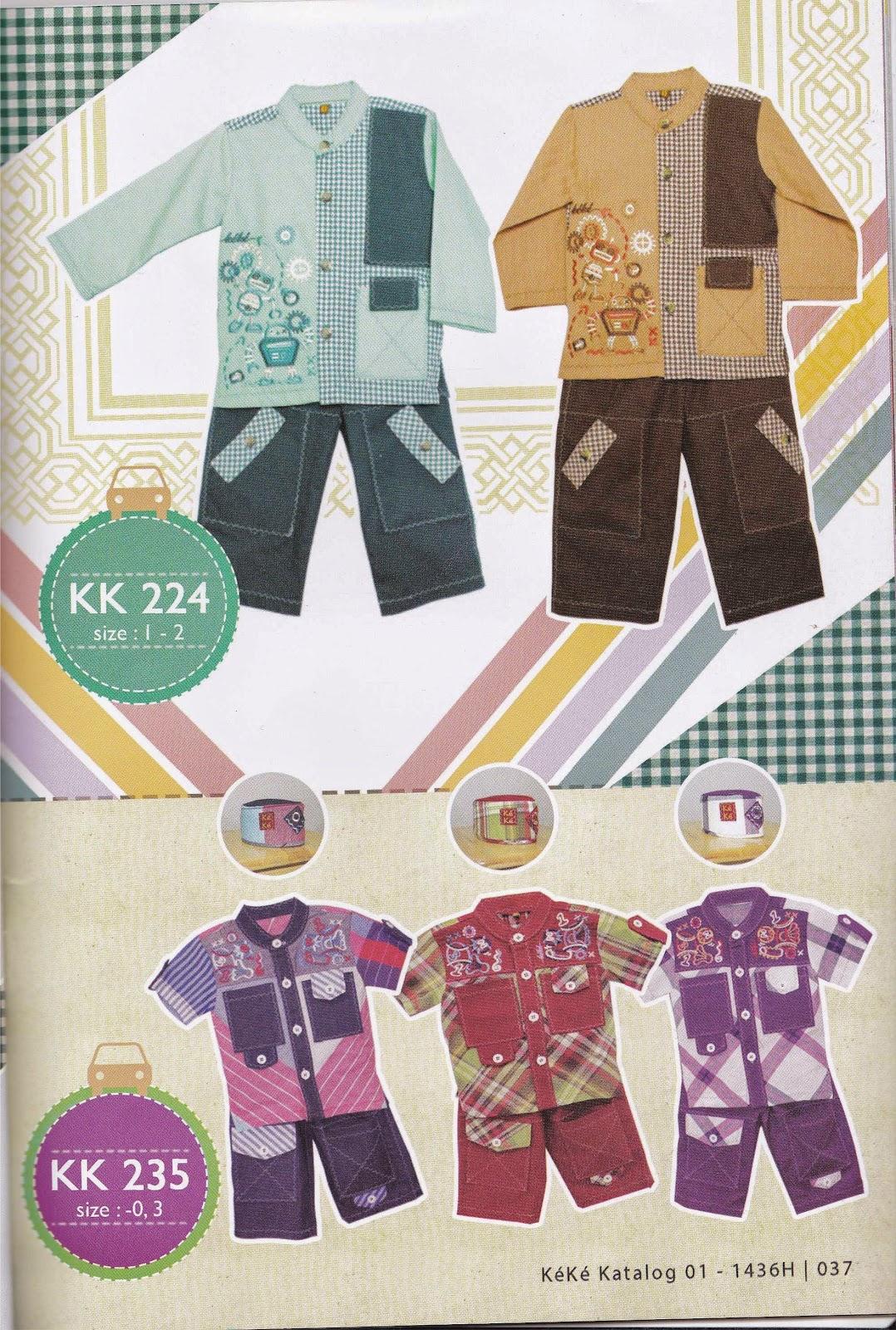 KK 224 Baju Muslim Anak