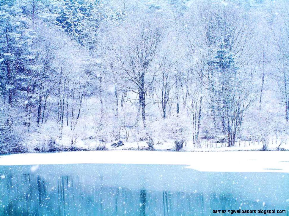 HD Winter Wonderland Wallpaper   WallpaperSafari