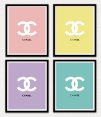 Set of Four 8x10 Chanel Prints $55