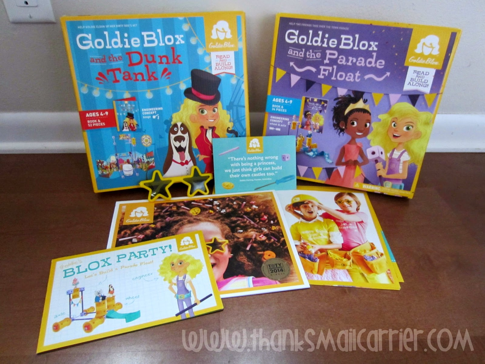 GoldieBlox products