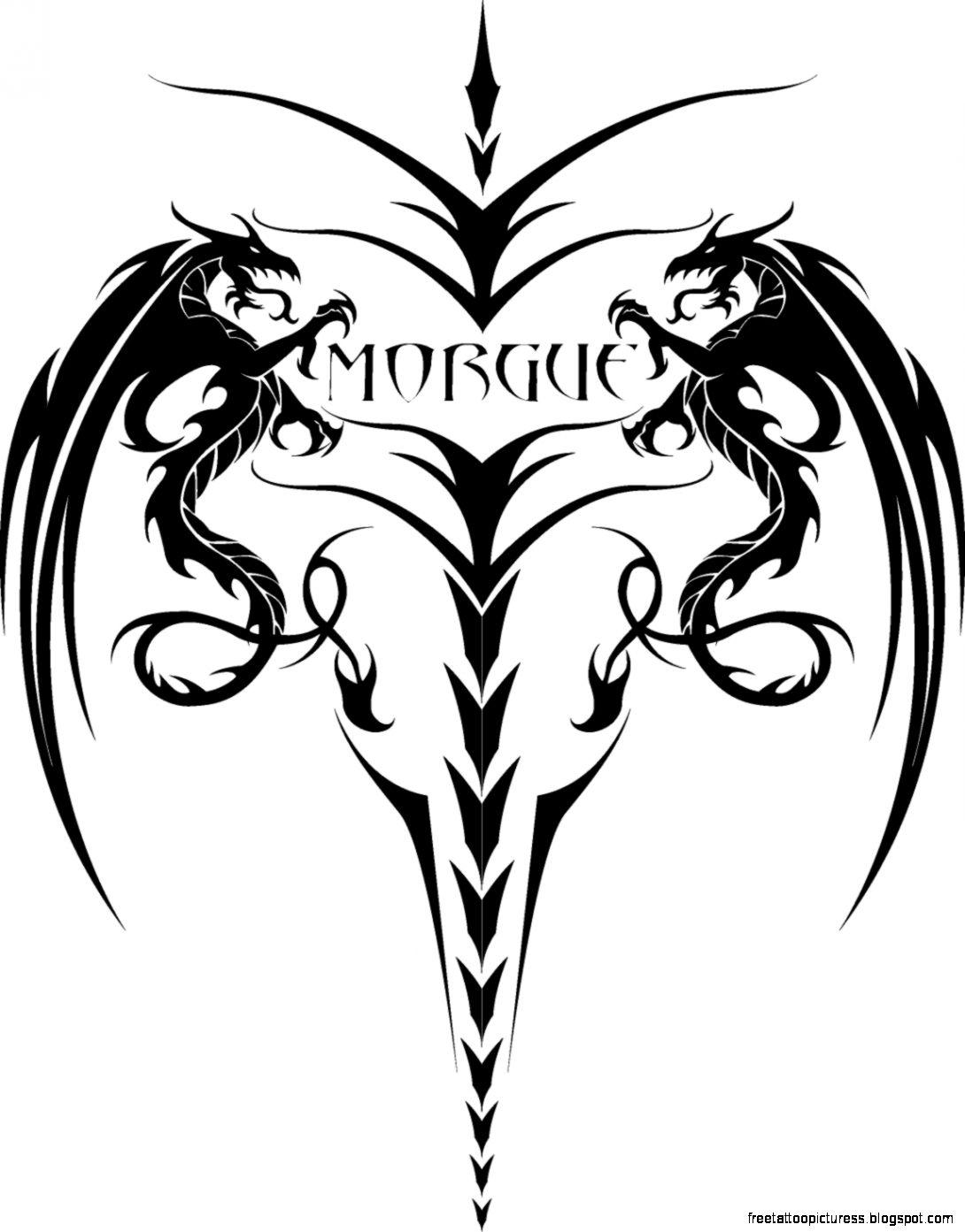 dragon tatoo by DrMorgue on DeviantArt