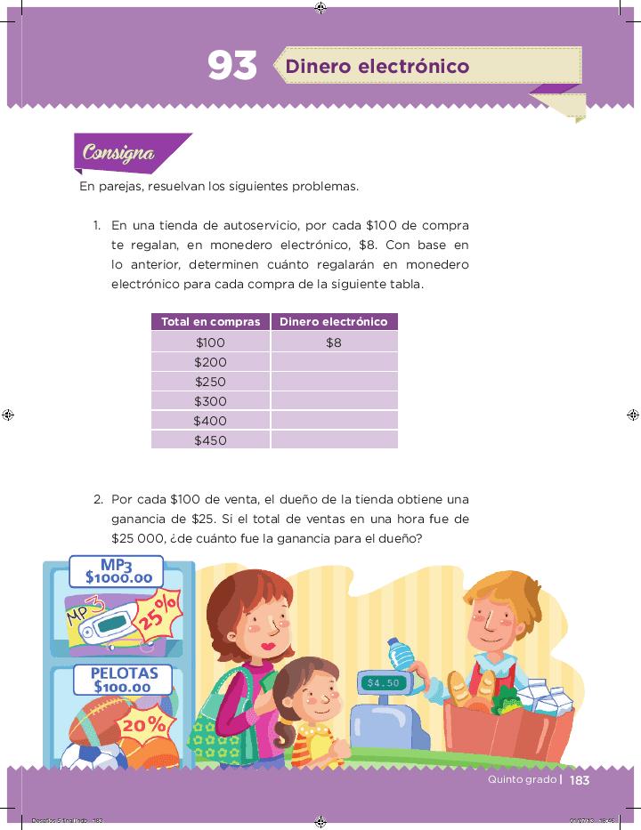 Dinero electrónico - Desafíos matemáticos Bloque 5 2014-2015