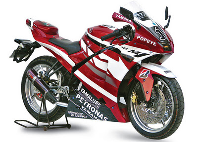 modif motor new Vixion 2013
