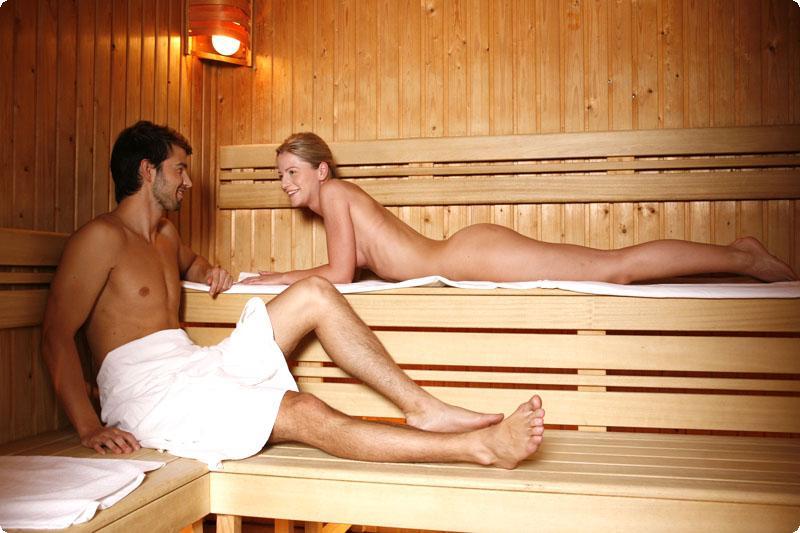 фото голых семейных пар в бане