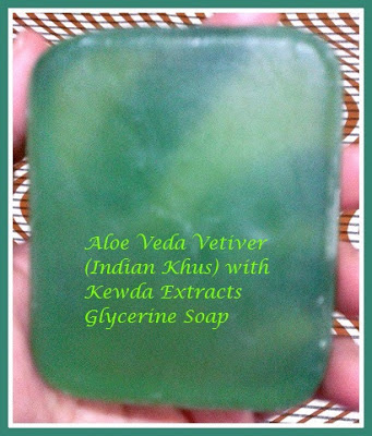 Aloe Veda Indian Khus (Vetiver) with Kewda Extracts Soap