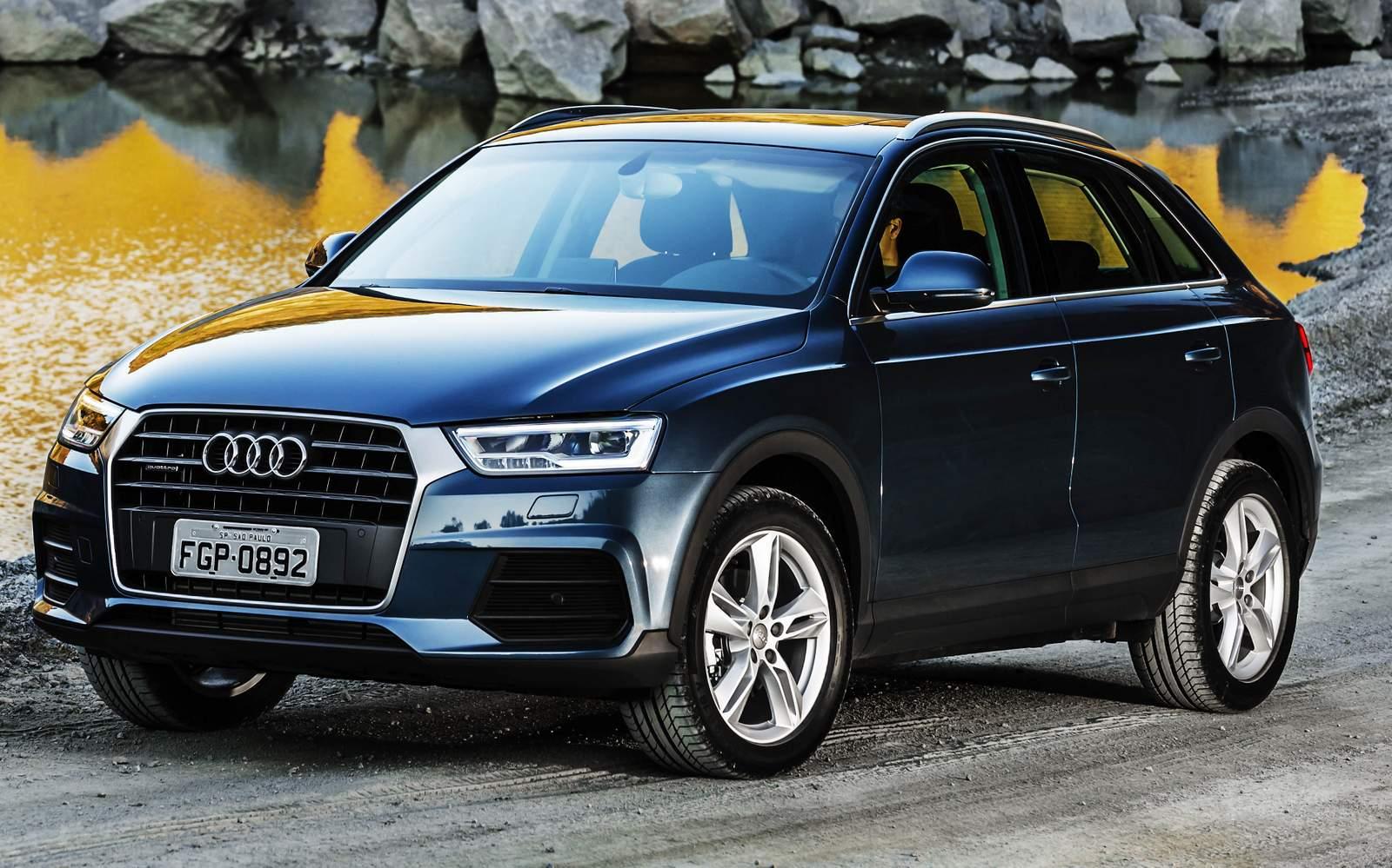 Audi Q3 : SUV Premium mais vendido do Brasil em 2015