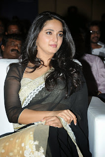 Anushka Shetty Latest Pictures in Saree at Lingaa Audio Success Meet ~ Celebs Next