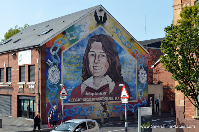 The Troubles Murals in Belfast