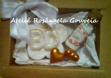 Lembrancinha personalizada kit sabonete