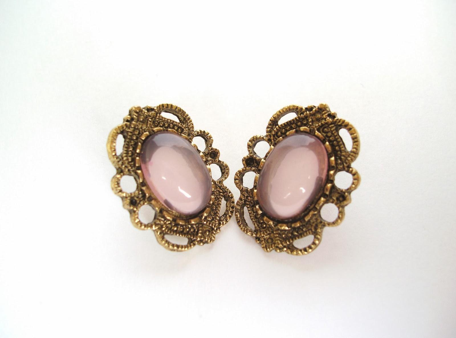 Western Retro Style Hollow out Rhinestone Earrings $1.47