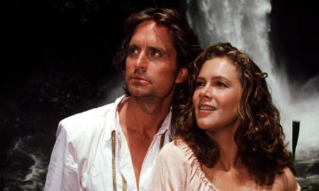 Kathleen Turner at Romancing The Stone Movie | A Star News ...