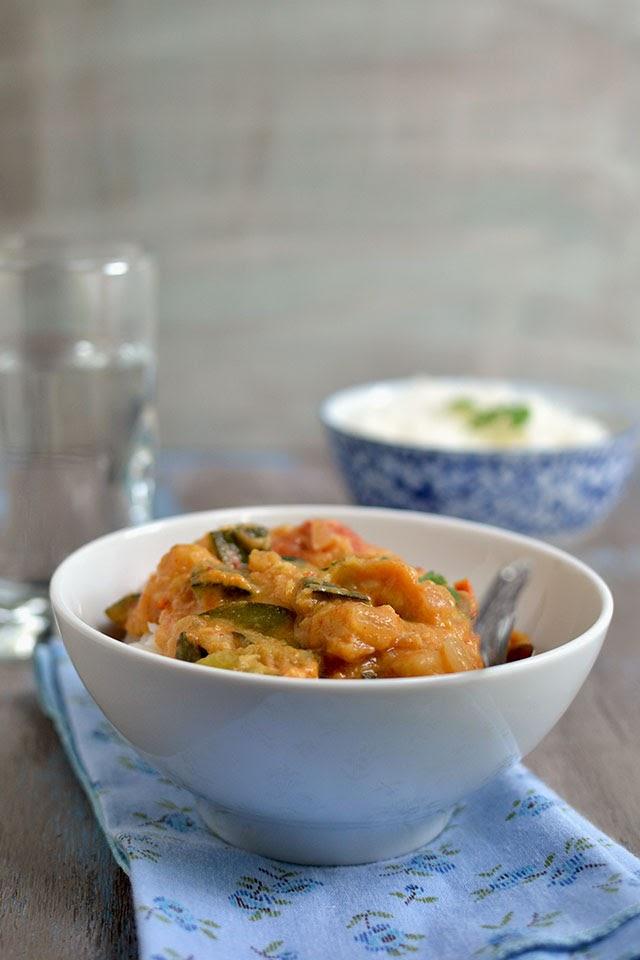 Thai Zucchini Curry