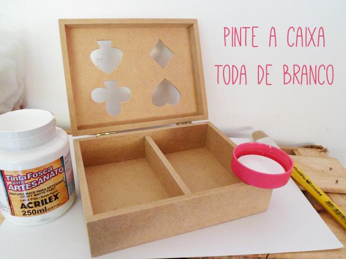 DIY, passo a passo, tutorial, pap, caixa, mdf, alice