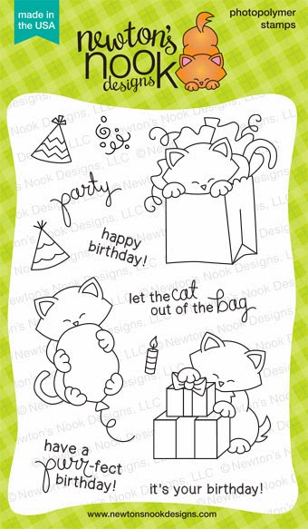 Newton's Birthday Bash Stamp set by Newton's Nook Designs
