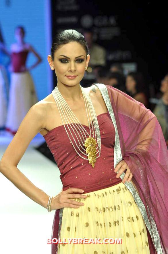 , Gia's Show At Iijw 2012 - Pia Trivedi,amruta Patki,sucheta Sharma,aanchal Kumar,deepti Gujral