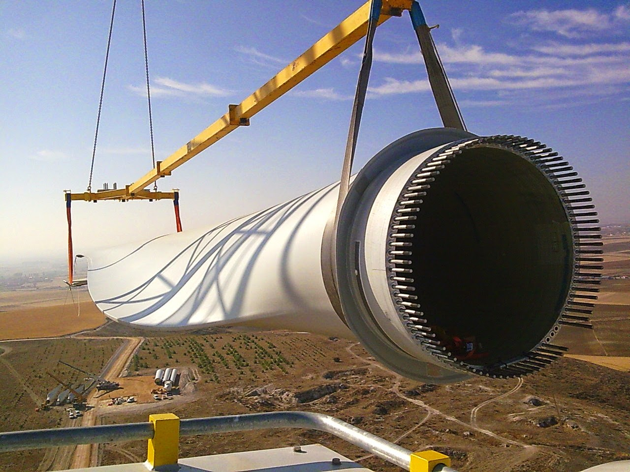 Wind Energy In Egypt Siemens To Build Wind Turbines Blades Factory