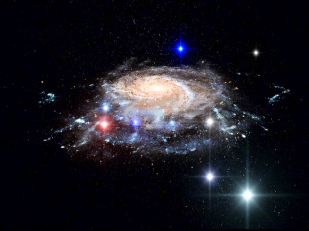 galaxy, stars, beautiful